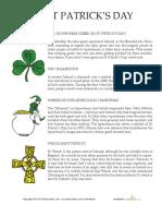 St Patricks Day History