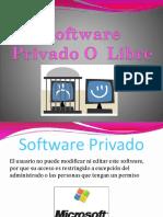 Software Privado O Libre