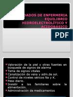 DESIQUILIBRIO ELECTROLICITICO