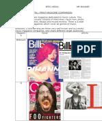 Printed/Digital Magazines