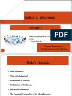 International Business Lecture 1