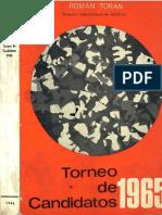 Torneo de Candidatos 1965 - Román Torán.pdf