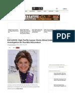 Gloria Allred Under California State Bar Investigation
