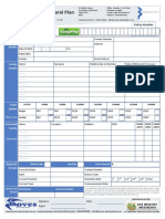 New Application Form Lifa