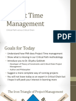 20121019 Cor Terrell Time Management and Critical Chain