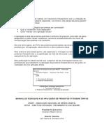 Manual de Tecnologia de Aplica--o de Agrot-xicos