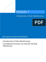 MODULO 1. Introducción a Data Warehousing