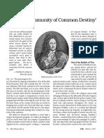 Leibniz 'Community of Common Destiny'