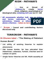 Terrorism Pathways