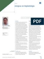 Revision Bibliografica Ferulas en Implantologia