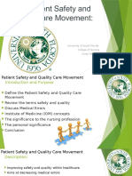 final quality and patient safety no voice