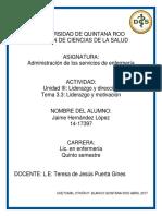 Unidad III. Liderazgo y dirección. TEMA 3.3. Liderazg y motivación.pdf