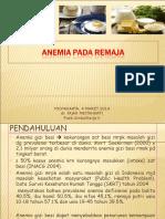 Anemia Pd Remaja Ppt