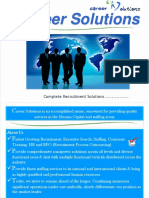 Career Solutions Brochure