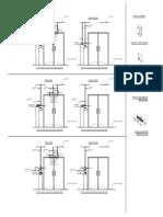 Typical Intsallation Double Glass Door - 1