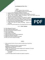 MEFA Unit Wise Imp Questions (Autosaved)