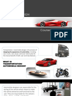 Automotive Design Course india