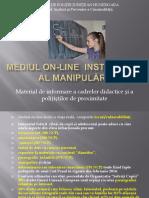 Manipularea in Mediul Virtual