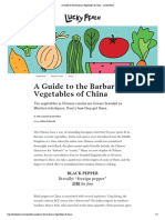 A Guide to the Barbarian Vegetables of China - Lucky Peach