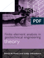 Finite Element Analysis in Geotechnical Engineering Vol 1 Theory