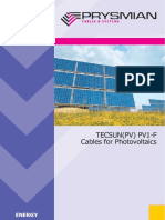Cablu Solar - Tecsun_PV1