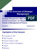 Scs00974 129 Course Outline Strategic Management Test Assessment