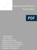Polymers and Their Properties