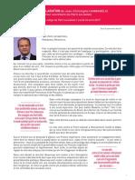 Déclaration de Jean-Christophe Cambadélis Premier secrétaire du Parti socialiste