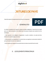 4461b133cd36c813f1db832adab9be78 Comptabilite Les Ecritures de Paye