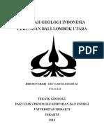 Makalah Geologi Indonesia
