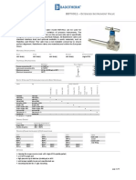Badotherm BDTV911 Extended Instrument Valve