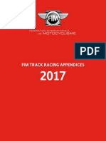 2017 FIM Track Racing Appendices - updated 25.04.17