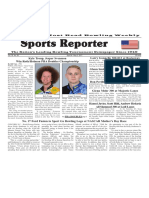 April 26 - May 2, 2017  Sports Reporter