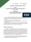 Resume Health Behaviour & Health Education - The Health Belief Model