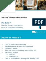 Mod 7 Variability