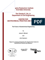 CGPR 70 the Future of Geotechnical Engineering