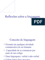 Linguagem Verbal x Não-verbal