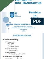 LECTURE 10 Metalurgi Manufaktur