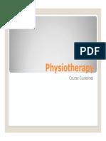Syllabus Fisiotherapy