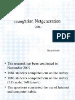 Hungarian Netgeration