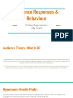 audience responses   behaviour