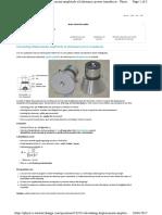 Calculating Ultrasonic Sensor