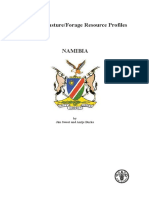FAO Forage Profile - Namibia