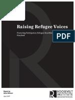 Raising Refugee Voices