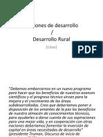 Historia Del Concepto y Enfoques Del Desarrollo