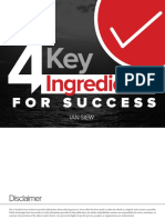 4 Key Ingredients for Success