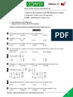 Subiect Si Barem Matematica EtapaII ClasaIV 14-15