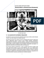 López Tapia, Alexis; De la Revolución Democrática a la Democracia Dictatorial.pdf