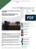 EUA Iniciam Instalação de Sistema Antimíssil Na Coreia Do Sul - 26-04-2017 - Mundo - Folha de S