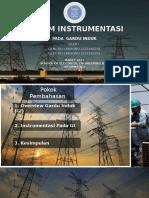 Sistem Instrumentasi Pada Gardu Induk